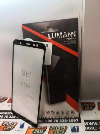Samsung Galaxy A6 Plus /J8 2018 / A9 Star Life 3D üvegfólia fekete