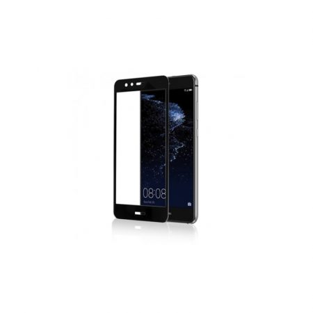 Huawei P10 Lite 3D üvegfólia, Fekete