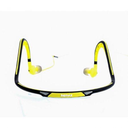 Remax RM-S15 Sporty vezetékes sztereo headset zöld (3,5mm jack csatlakozós)