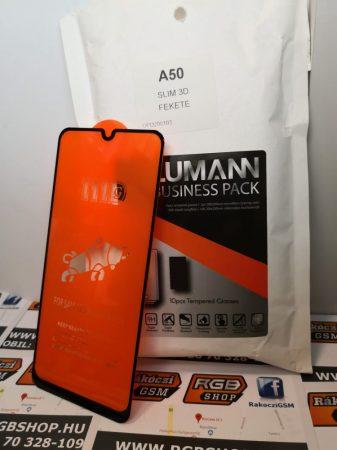 Samsung Galaxy A20/A30/A30S/A50/A50S 3D üvegfólia fekete