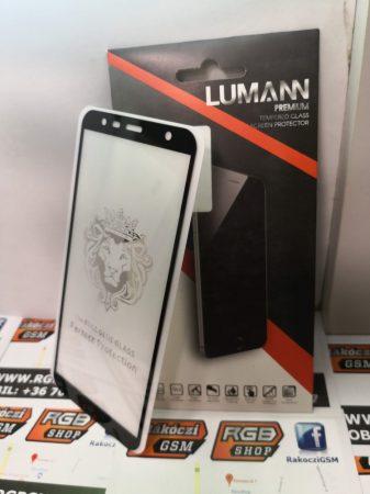 Samsung Galaxy J6 Plus 3D üvegfólia, fekete