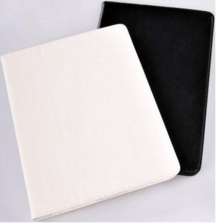 Samsung Galaxy Tab A 9.7 col specifikus műbőr táblagép tok fekete, fehér